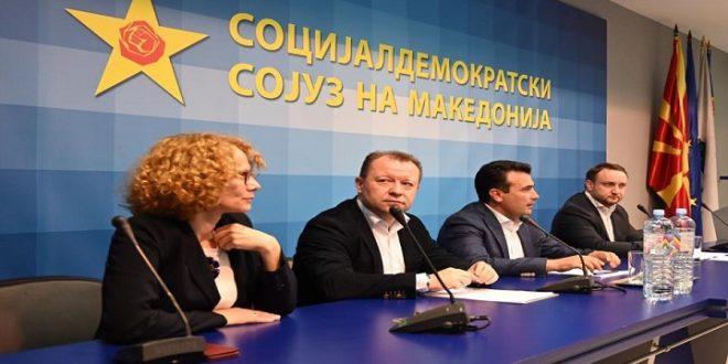 """Заев започнува со """"метлата"""": Разрешува 6 министри и генералниот секретар Кирацовски"""