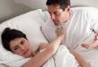Вчера ја гледав жена ми додека спиеше: Целата беше влакнеста и запуштена, како да спијам со маж