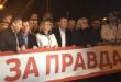"""Илјадници граѓани на собирот – Заев го предводи """"маршот на правдата"""""""