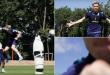 """ВИДЕО: Ново шоу на Алиоски – даде гол на тренинг, па ја """"скрши"""" камерата"""