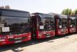 На 5 дена пред избори пуштени во употреба новите еколошки автобуси во Скопје
