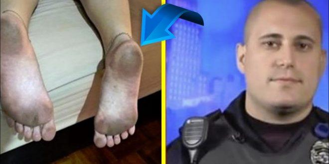 Полицаец фатил мајка на 6 деца во kpажба – кога и ги видел нозете реагирал несекојдневно