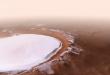 Дали е ова доказ дека ќе можеме да живееме на Марс? Моќна снимка од кратерот полн со лед, а еве што се крие зад неговото име