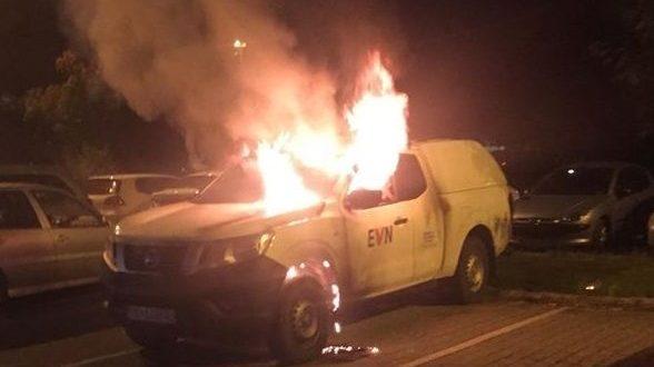 Познат е човекот што запали две возила на ЕВН во Тетово