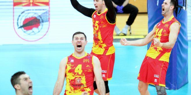 Македонија слави: Македонските одбојкари обезбедија пласман на Европско првенство
