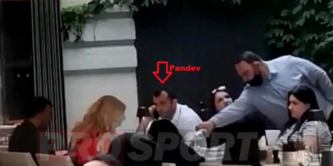 """Пандев и Ангеловски го ПРЕКРШИЈА ПРОТОКОЛОТ на УЕФА – """"уловени"""" во луксузен ресторан на вечера"""